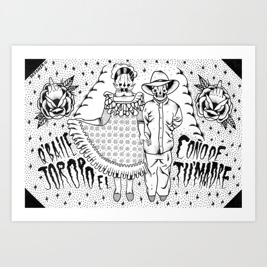 joropo Art Print