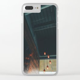 5 Edison Clear iPhone Case