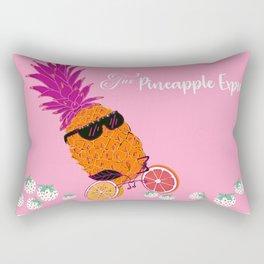 The Pineapple Express Rectangular Pillow