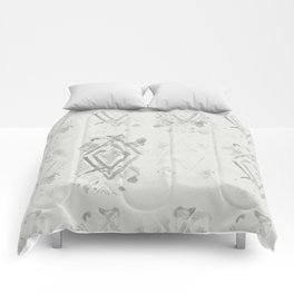 Simply Ikat Ink in Lunar Gray Comforters