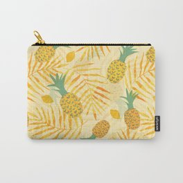 Sunny Pineapples Carry-All Pouch