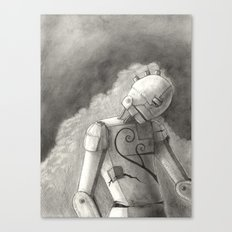Echo of Sorrow Canvas Print