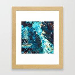 Lám Framed Art Print