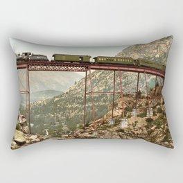 Devil's gate bridge Rectangular Pillow