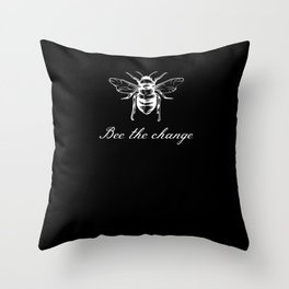 Bee The Change Throw Pillow