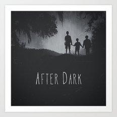After Dark Art Print