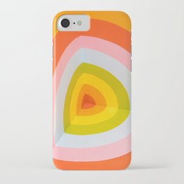 Multi Colour Corner Wall Art iPhone Case