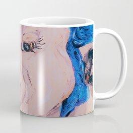 Blue Ribbon Pig Coffee Mug