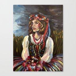 Rusalka Canvas Print