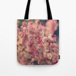 Rumex flower Tote Bag