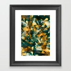 Raw Texture Framed Art Print