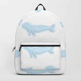 Pretty Watercolor Seals Backpack
