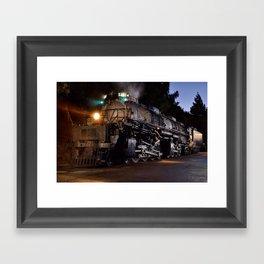 UP 4014. Union Pacific.  Steam Train Locomotive. Big Boy. © J. Montague. Framed Art Print