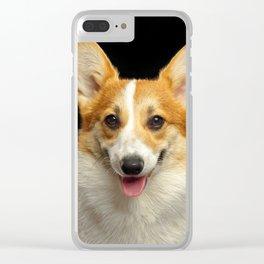 Welsh Corgi Pembroke Dog Clear iPhone Case