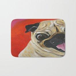 Pug-tastic Bath Mat
