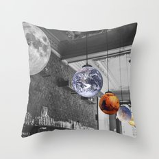 Beyond our solar system Throw Pillow