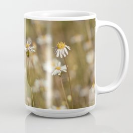 Field of Daisies - Floral Photography #Society6 Coffee Mug