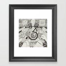 N0.3 Framed Art Print