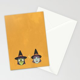 Good Witch VS Bad Witch Stationery Cards
