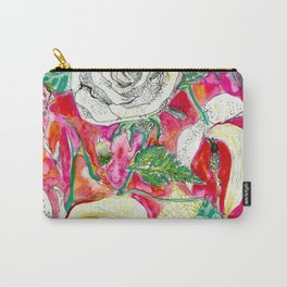 Memories, Petals and Blooms Carry-All Pouch
