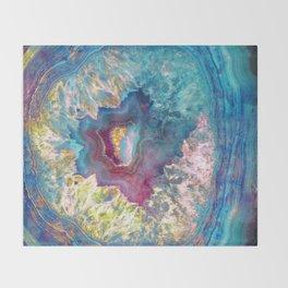 425 26 Abalone Geode Throw Blanket