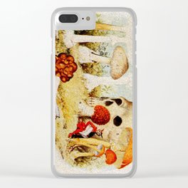 Shroombook Clear iPhone Case