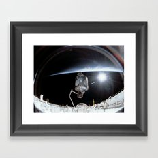 NASA International Space Station Framed Art Print