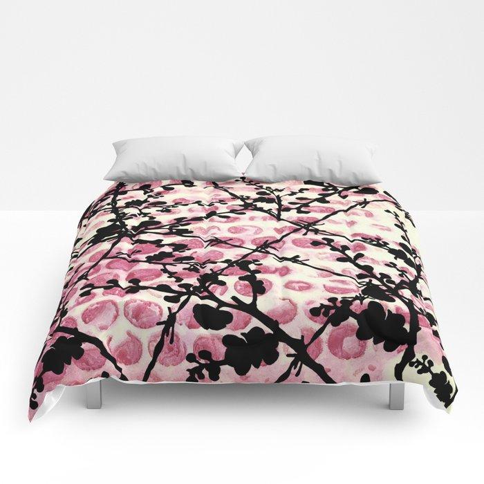 Barbed Flowers Comforters