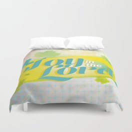 Joy in the Lord Duvet Cover