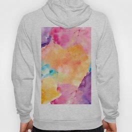 Watercolour Clouds Hoody