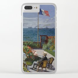 Garden at Sainte-Adresse Clear iPhone Case