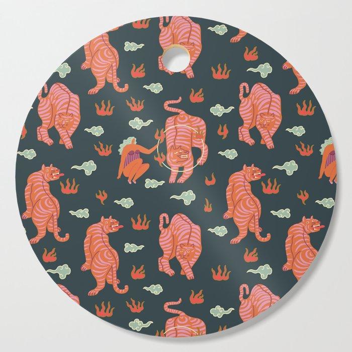 Circus pattern Cutting Board