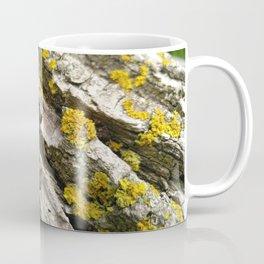 Oak Log Lichens Coffee Mug