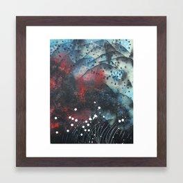 Jolted Awake Framed Art Print