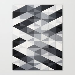Geo Gradation Canvas Print