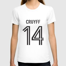 Johan Cruyff 14 Mens Retro Holland Football Player Dutch T-Shirts T-shirt