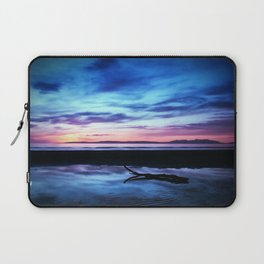 Sunset Over Troon Beach Laptop Sleeve