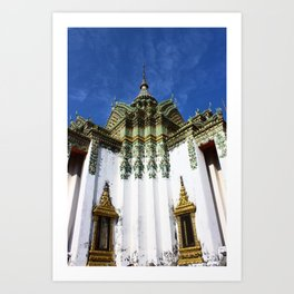 Wat Pho Temple: Bangkok, Thailand Art Print