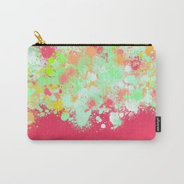 paint splatter on gradient pattern tgpi Carry-All Pouch