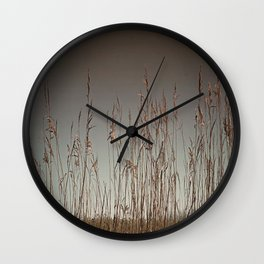 Swamp Grass Wall Clock