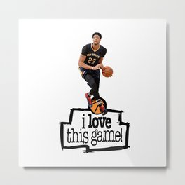 Anthony Davis Metal Print