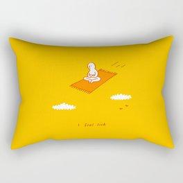 air sickness  Rectangular Pillow