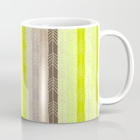 arrow Mugs featuring Arrow by Ebru S.