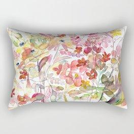 Wild flowers IV Rectangular Pillow