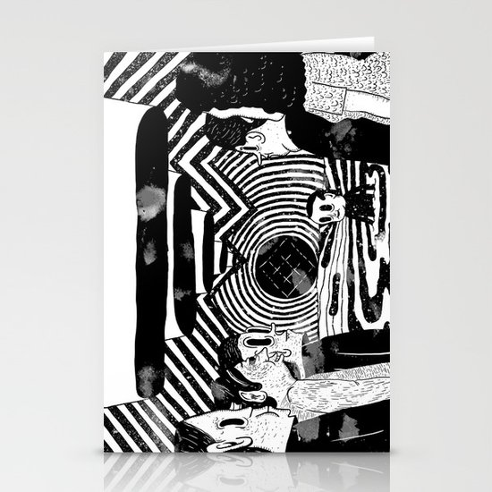 """Reflektor"" by Steven Fiche Stationery Cards"