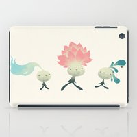 les mis iPad Cases featuring les microbes  by yohan sacre