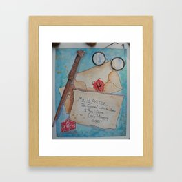 Potter Framed Art Print