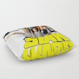 Star War Action Figures Poster - First 12 Floor Pillow