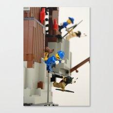 Lego Fight Canvas Print