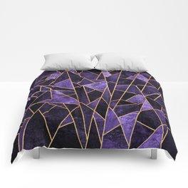 Shattered Amethyst Comforters